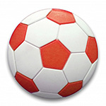 Childrens Football Knob