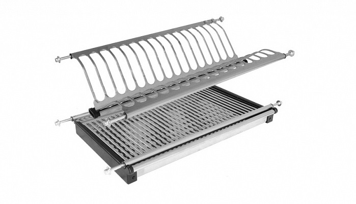 Cabinet Dish Drainers and Tray